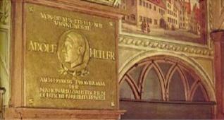 plaque hitler