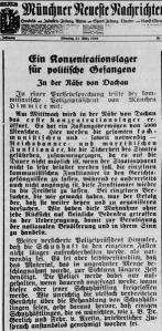 Article Dachau
