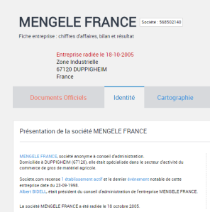 Mengele France