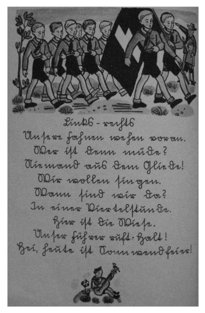 Livre nazi défilé